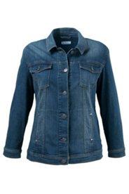 Jeansjacke mit Stretchkomfort