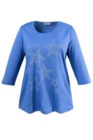 Shirt mit Sternen aus Ziersteinen, Stretch