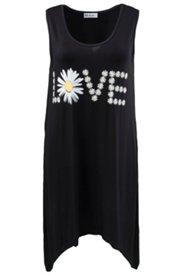 Kleid mit Zipfelsaum, Stretchkomfort