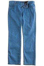 5-Pocket-Jeans, extra leichter Sommerdenim, Komfortbund, Regular Fit