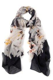 Schal mit Paisley- und Blütenmuster