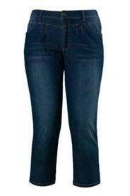 Jeans, Boyfriend-Style, Stretch, 3/4 Länge