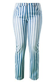 Streifenjeans, 5-Pocket-Jeans mit Stretchkomfort