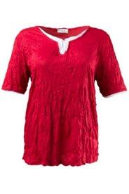 2-in-1-Shirt aus Crash-Jersey, Lagenoptik
