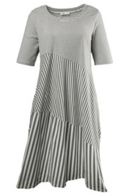 Kleid in Tulpenform, Biobaumwolle