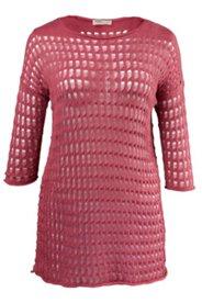 Pullover mit Ajourmuster, Biobaumwolle