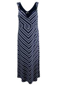 Sommerkleid mit Metallic-Dekor an den Trägern