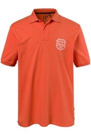 Poloshirt, Kragenunterseite gestreift, Piqué-Qualität