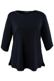 Shirt, Ausschnitt mit Zierborte, 3/4-Arm