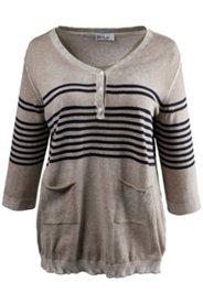 Pullover mit Taschen, 100 % Baumwolle