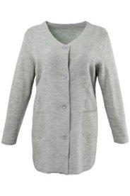 Boiled-Wool-Jacke, gewalkte Wolle