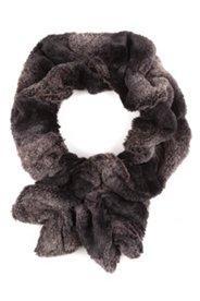 Webfell-Schal, kuschelweich, Schlaufe zum Durchziehen