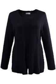 Pullover mit Waffelstruktur