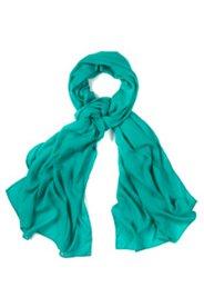 Schal, einfarbig, weiche Seidenmischung