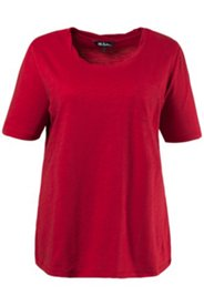 Shirt, in sich gedrehter Ausschnitt, 100 % Baumwolle