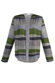 Shirtjacke, offene Form mit Schalkragen