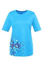 Shirt mit Farbaufdruck, 100 % Baumwolle