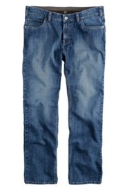 Jean 5 poches, regular fit, ceinture confort