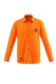 Chemise avec application au dos