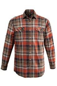 Chemise à carreaux, manches longues, comfort fit