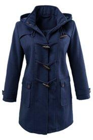 Duffle-coat doubure matelassée, capuche amovible