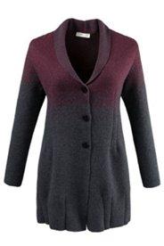 Manteau en laine bouillie