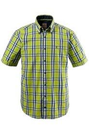 Chemise à carreaux, manches courtes
