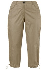 Pantalon cargo 7/8  confortablement stretch