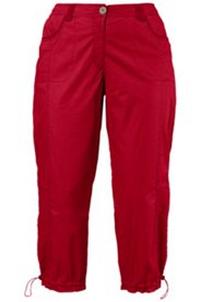 Pantalon cargo 7/8  confortablement stretch