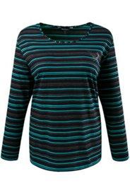 Shirt rayé avec motif strass