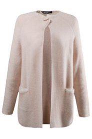 Gilet maille douce coupe raglan