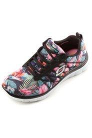 Sneakers motif jungle lacets interchangeables