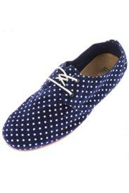 Chaussures à lacets cuir souple largeur H