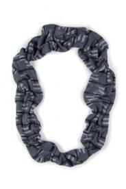 Snood maille coton bio tricot 3D