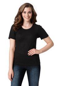 Basic Slim T-Shirt mit Elasthan