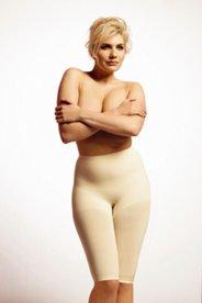 Bodyforming-Panty mit Elasthan