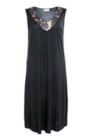 Kleid mit Paillettenbesatz, ärmellos