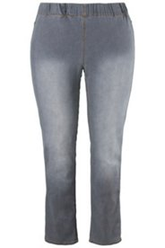 Jeggings in Denim-Optik, Rundum-Gummibund
