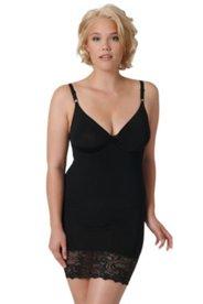 Bodyforming-Kleid mit längenverstellbaren Trägern