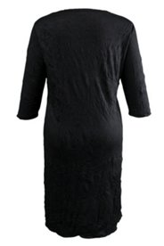 Kleid, Material-Mix, ¾ Arm