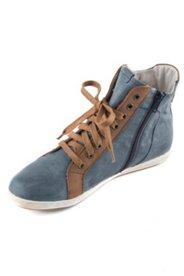 Sneaker mit Reißverschluss, Weite H