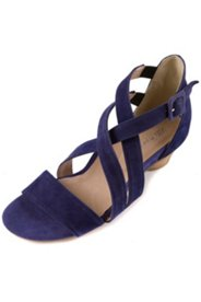 Sandalette mit überkreuzten Riemen, Weite H