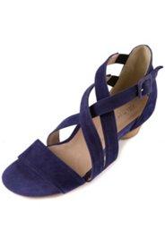 Sandaletten mit überkreuzten Riemen, Weite H