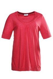 Pullover aus Flammgarn, Rundhals, 100% Baumwolle