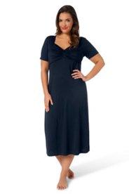 Kleid, Halbarm, mit Carreeausschnitt