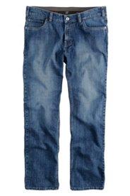 5-Pocket-Stretchjeans, elastischer Komfortbund, Regular Fit