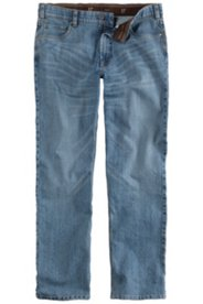 Jeans, elastischer Komfortbund, Regular Fit, 5-Pocket, Stretch