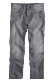 5-Pocket-Jeans, Straight Fit, grey denim, Stretch-Komfortbund