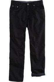 Hose, Thermofutter, 5-Pocket, Regular Fit, elastischer Bund, Stretch