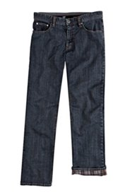 Thermojeans, Regular Fit, blue denim, Stretch-Komfortbund